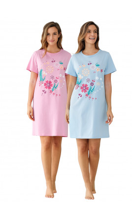 Lot de 2 chemises de nuit - SOTO